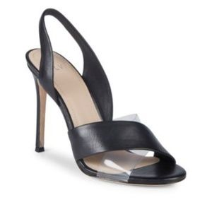 PVL Elly Leather & PVC Slingback Sandals
